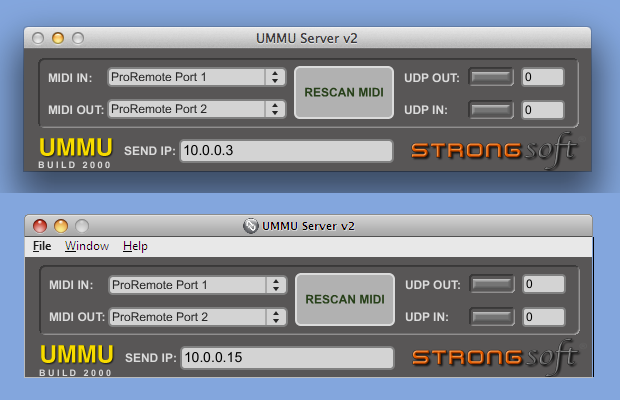 UMMU Server v2 (Mac and PC)